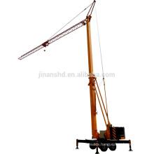 Mobile tower crane Folding tower crane QTZ25