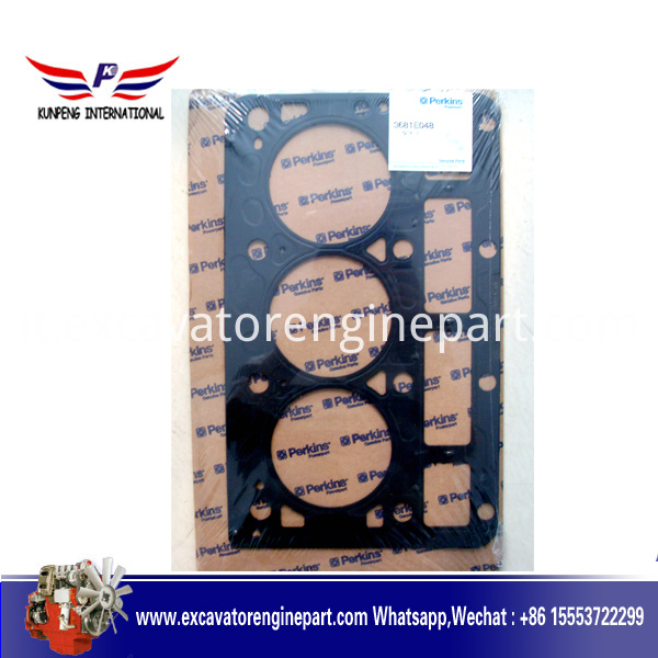 perkins engine spare parts gasket cylinder