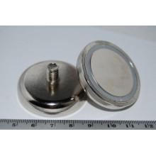Topf-Magnete mit Gewindezapfen (POT-C)