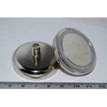 Pot Magnets with Threaded Stem (POT-C)