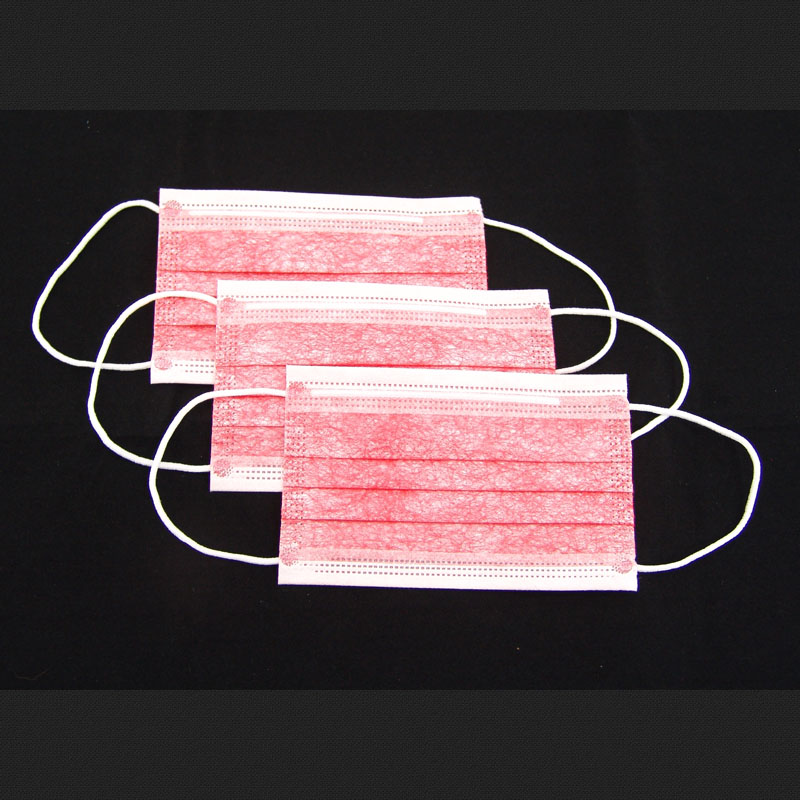Medical Surgical Non-woven Face Mask 3ply Ear Loop Or Tie On