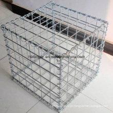 Caixa de Gabion / rede de fio sextavada / cesta de Gabion