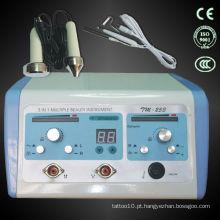Tratamento de pele de três vias (ultra-sônico + vácuo + spray)