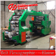 PP tejido de impresión de la máquina de impresión Flex / máquina de impresión tejida PE / máquina de impresión Flexo
