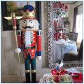 Christmas Decoration Life Size Fiberglass Nutcracker Statue