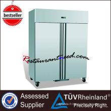 Réfrigérateur droit R205 en acier inoxydable