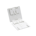 Multi-function cube cute folding sliding mobile phone holder