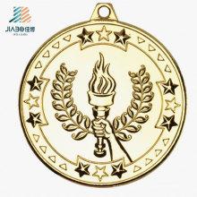 Новый дизайн 3D олимпийскую награду спорта изготовленный на заказ медаль сувенира