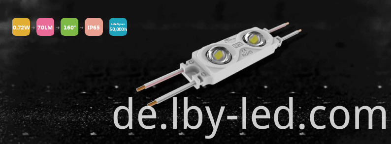 0.72W constant current lens led module