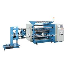 500m / Min PLC automático de alta velocidad de corte y rebobinado máquina controlada (BTM-D1300)