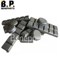 Bucket weld heel shroud DLP569 chocky bar standard wear bars