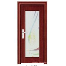 Puerta de baño con puerta de vidrio (FD-1096)