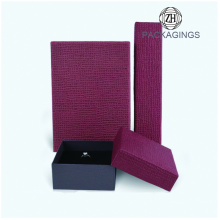 Red+leatherette+paper+ring+box+for+wedding