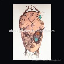 OEM оптовые часы татуировки руку для человека специальный дизайн татуировки для женщин Императорский татуировка короны для девочки W-2028