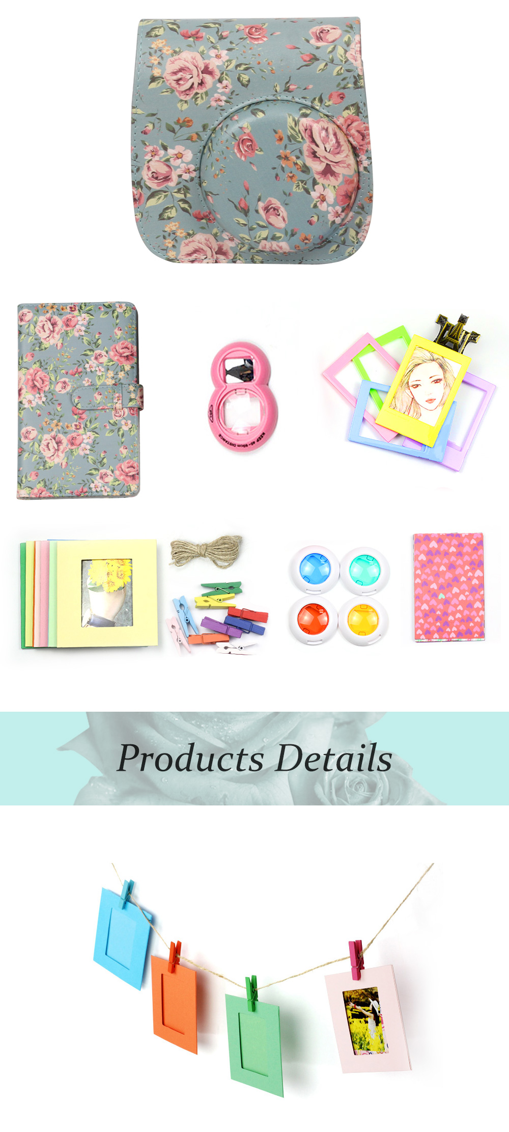 Classical Instax Accessories Bundle