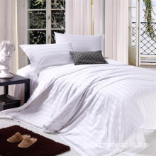 Sateen Strip/Hotel/Hospital/Home/White Bleached/Bedding Fabric