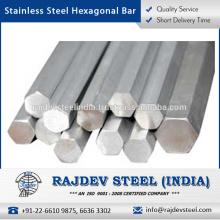 Fabricante líder y mayorista de barra hexagonal de acero inoxidable