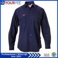 Chemises de travail personnalisées à manches longues pour hommes (YWS111)