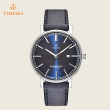 Homens Relógios de luxo Homens Water Resistant Leather Quartz Watch 72394