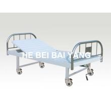 A-128 Movable Single Function Manual Krankenhausbett