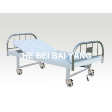 a-128 Movable Single Function Manual Hospital Bed