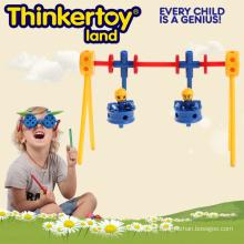 Juego de mesa de plástico Adha juguete de terapia para niños