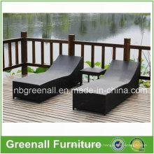 Wicker Aluminum Outdoor Rattan Beach Подержанная Lounge Мебель для отдыха