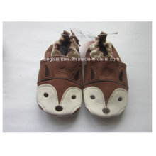 Brown 03: Sheepskin Baby Shoes