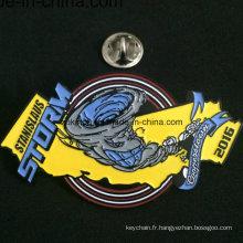 Insignes promotionnels faits sur commande de badges de goupille de revers d'OEM