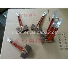 AGV escova de carbono de peças para guindaste