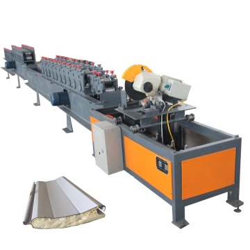 Automatic PU Sandwich Roller Shutter Door Machine