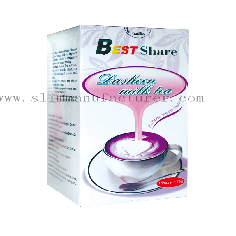 Best Share Slimming Dasheen Milk Tea China Manufacturer