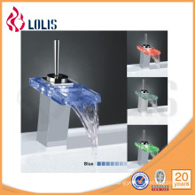 Comtemporary Glass faucet wash basin mixer tap (YL-8011)