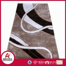 Shaggy tapis de bonne qualité des prix compétitifs tapis avec 3D effets chine fty