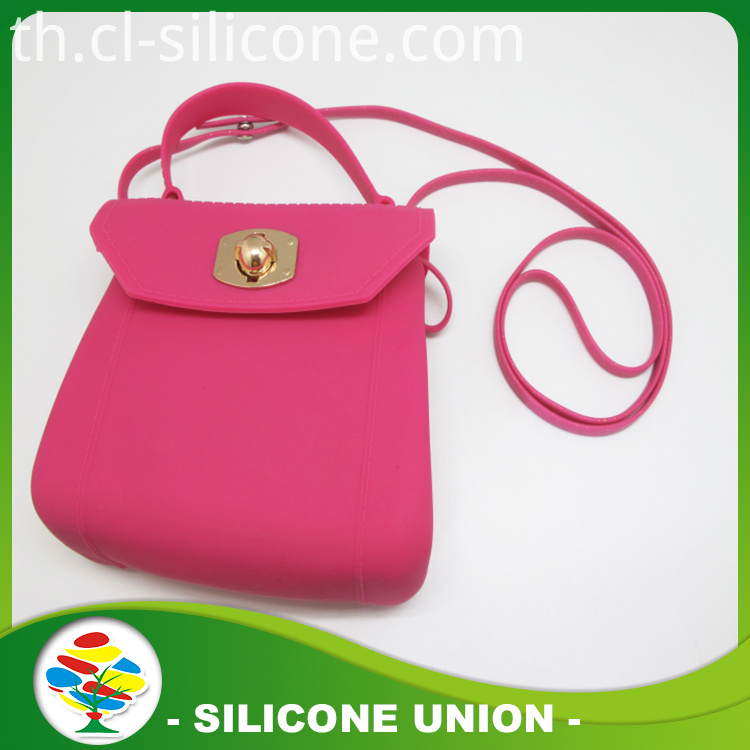 silicone woman's bag