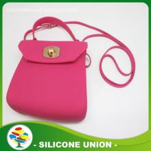 Innovative silicone rubber lady bag/women purse