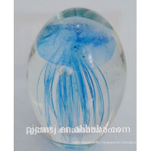 Bola medusa de cristal personnalizada para obsequios de regalo y decoración