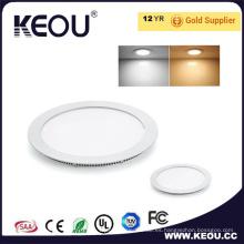 3W 4W 6W 9W 12W 5 años de garantía LED Panel de luz