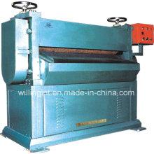 Laminage de colle de couleur et machine de gaufrage