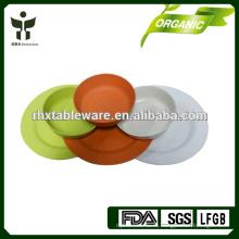 Бамбуковое волокно здоровый набор посуды для дома