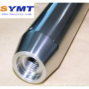 Molybdenum Tube Parts moly bar disesuaikan