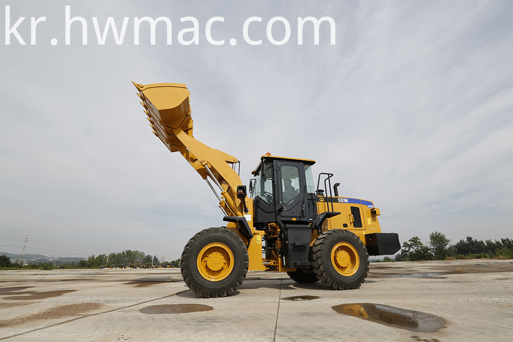 Small Front End Wheel Loader