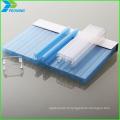 600 feuilles de serre avec feuille en polycarbonate et cadre en aluminium