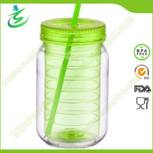 20oz High Quality Plastic Mason Jar with Custom Logo (MJ-D1)