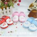 Calçados de bebê de algodão de moda por atacado sapatos de esporte sapatos de lona de criança