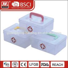 Caixa de segurança jejuados tackle médica plástico PP