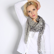 Châle en tricot acrylique (QT1.2)