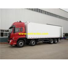 Camiones de carga refrigerados DFAC de 12 ruedas