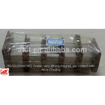 10000 gauss magnet/neodymium magnet n52/industrial magnet