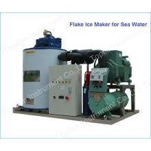 Máquina de hielo popular en el barco de pesca (6 ton / 24h)